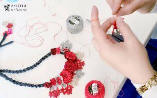Soma Artisans İle Kadınlar Kışı Bahara Çeviriyor