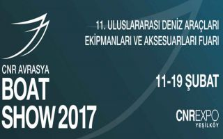 CNR Avrasya Boat Show 2017