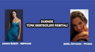 Duende Türk Bestecileri Resitali