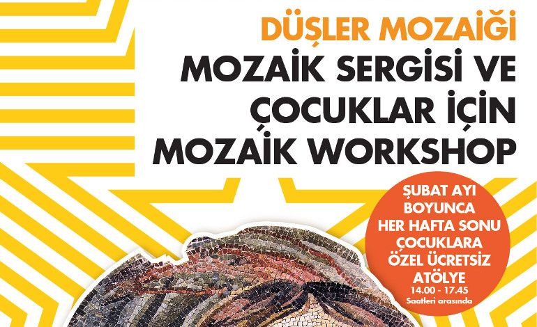'Düşler Mozaiği' Sergisi ve Mozaik Atölyesi Starcity Outlet'te