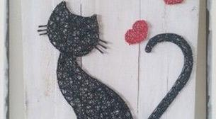 Masterpiece String Art - Kedi