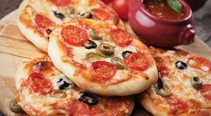 Mini Mini Pizza 5 - 8 Yaş