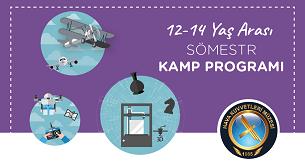 Sömestr Kamp Programı 12 - 14 Yaş