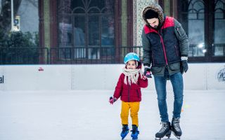 Türkiye'nin En Büyük Açık Hava Buz Pistinde Kış Keyfi Zamanı