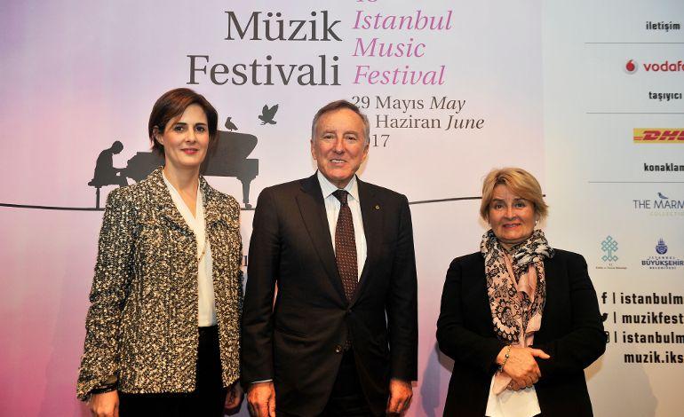 45. İstanbul Müzik Festivali Programı Açıklandı