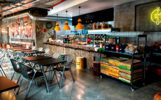 Modern Ev Yemeğini Loft Tarzla Birleştiren Restaurant: Mamazone