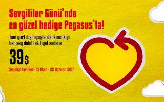 Pegasus, Sevgililer Günü Kampanyası