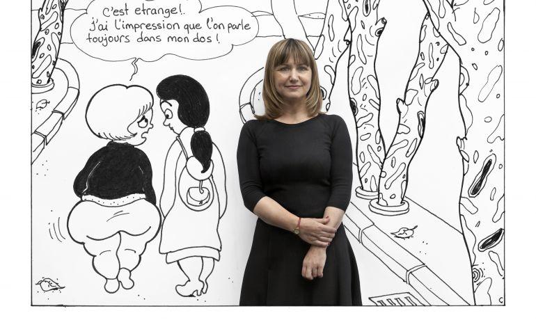 Ünlü Çizer Ramize Erer'e Fransa'dan 'Yaratıcı Cesaret Ödülü'