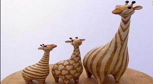 Heykel Zürafa 6-10 yaş