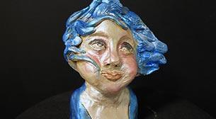 Masterpiece Heykel -Rüzgarda Portre