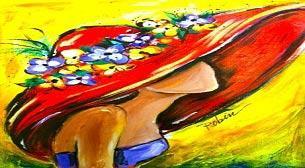 Yağlı Boya Workshop Sapkalı Kız