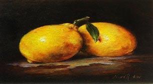 Yağlı Boya Workshop Tatlı Limon