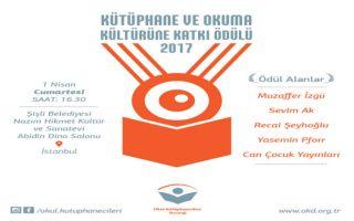 Sevim Ak Kütüphane Ve Okuma Kültürüne Katkı Ödülleri 2017'Ye Değer Görüldü!