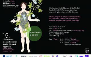 15. Uluslararası Gezici Filmmor Kadın Fimleri Festivali