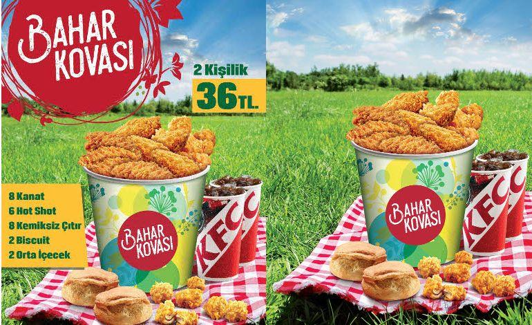 Baharın Tadı KFC ile Çıkacak!