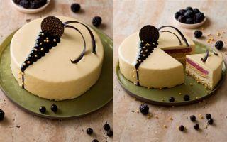 Özsüt'te Kahvenin En İyi Dostu: Vanilyalı Böğürtlenli Pasta