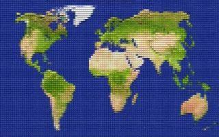 Çocuklar Zorlu'da Lego Dünya Haritası Yapmak İçin Biraraya Geliyor