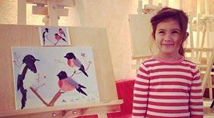 Çocuklara Yaratıcı Sanat Resim Work