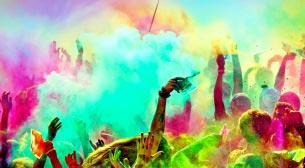Color Sky 5k İstanbul Renkli Koşu