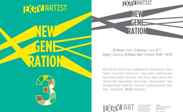 EKAV-ARTIST New Generation 3