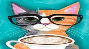 Masterpiece - Gözlüklü Kedi
