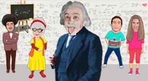 Zaman Makinesi 2 - Albert Einstein