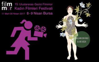 15. Uluslararası Gezici Filmmor Kadın Filmleri Festivali 08-09 Nisan'da Bursa'da