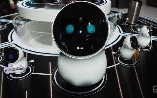 Evinizin Yeni Üyesi: LG Hub Robot
