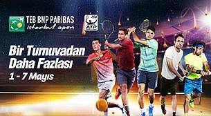 TEB BNP Paribas İstanbul Open 1.Gün