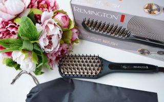 Remington Düzleştirici Fırça ile Birkaç Dakika İçinde Dümdüz Saçlar