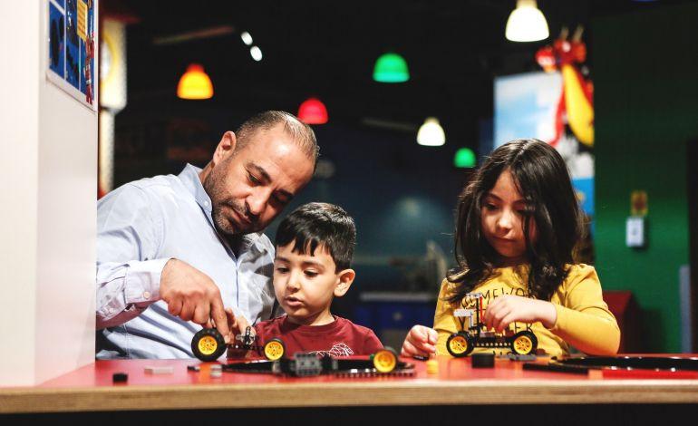 Discovery Centre'da Babalar Günü Yarışı Nefes Kesecek