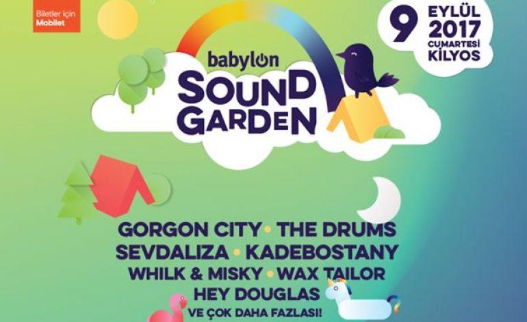 Babylon Soundgarden'da Sahne Alacak İsimler Belli Oldu