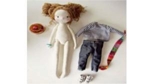 Çocuk Atölyesi- Bez Bebek Yapımı
