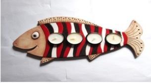 Seramik Atölyesi- Balık Mumluk