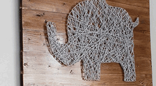 Masterpiece String Art - Fil