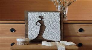 Masterpiece String Art - Manken