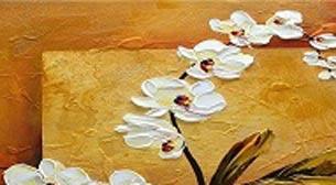 Yağlı Boya Workshop Orkide