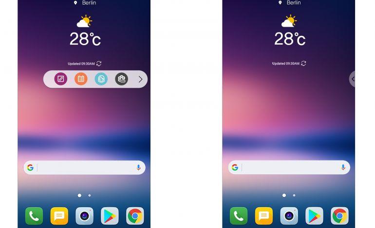LG V30 yeni kullanıcı arayüzüyle kişiye özel seçenekler sunuyor