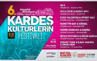 6. Kardeş Kültürler Festivali