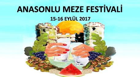 Anasonlu Meze Festivali 1.Gün
