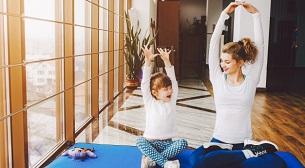 Anne - Çocuk Yogası