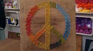 Masterpiece String Art - Peace