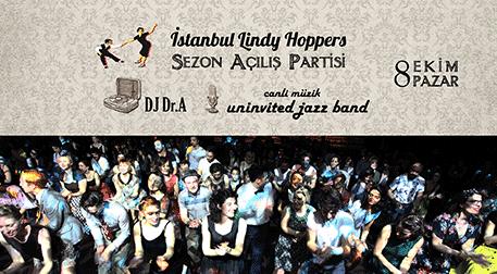 İstanbul Lindy Hoppers Açılış Parti