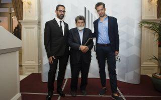 2017 Erdal Öz Edebiyat Ödülü Cevat Çapan'a Verildi
