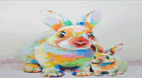 Masterpiece Galata Resim - Tavşan