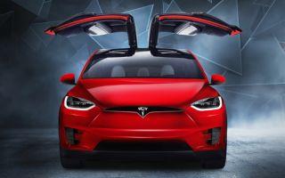 Bu Kış 'Tesla Model X' Moda!