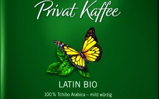 Tchibo'dan Organik Kahve Keyfi: Privat Kaffee Latin Bio
