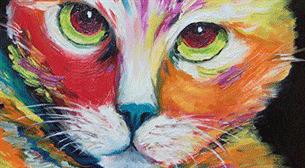 Masterpiece Bostancı Resim - Kedi