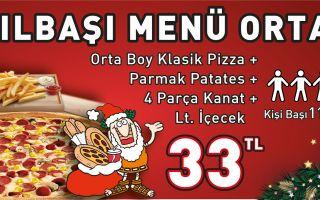 Little Caesars Pizza'da Yılbaşına Özel Çok Ye Az Öde Kampanyası!