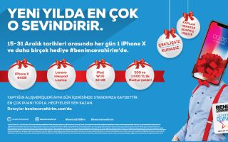 İstanbul Cevahir Hediyeleri ile Her Gün Mutluluk Dağıtıyor